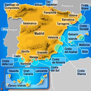 Flyplasser Spania Kart Dedooddeband